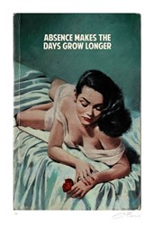 Absence Makes The Days Grow Longer (AP) by The Connor Brothers - Hand Coloured Giclee Limited Edition sized 22x33 inches. Available from Whitewall Galleries